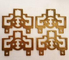 Brass Oriental Furnishings Picture Hangars