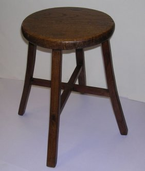 Four Legged Chinese Antique Stool