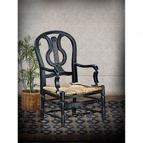 Lyre Armchair