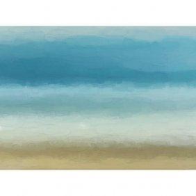 Ocean Abstract Gallery Wrap
