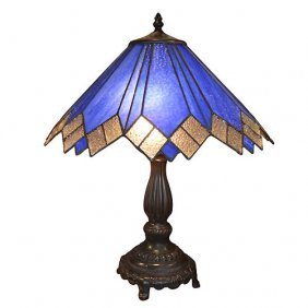 Modern Silver Peacock Lamp