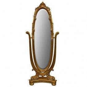 Versaille Oval Dressing Mirror