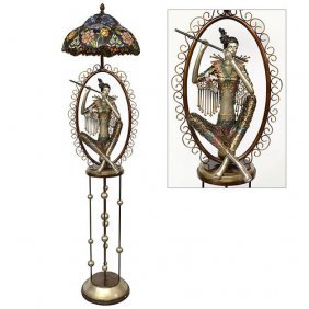 Artistic Tiffany Floor Lamp