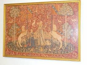 RENAISSANCE REVIVAL MYTHOLOGIC PETIT POINT Renaissance