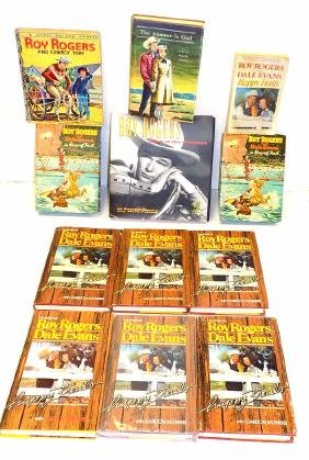 ROY ROGERS PERSONALLY OWNED ASSORTED BOOKS