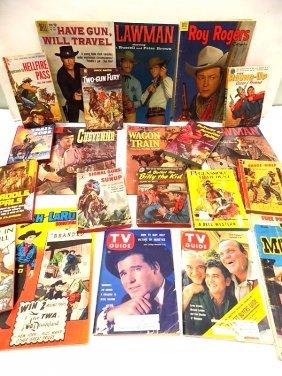 COWBOY WESTERN COMIC & PULP BOOKS