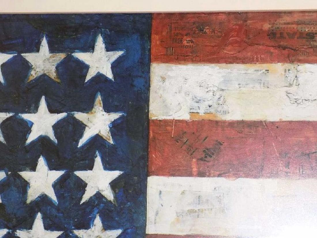 JASPER JOHNS - AMERICAN FLAG LITHOGRAPH - 2