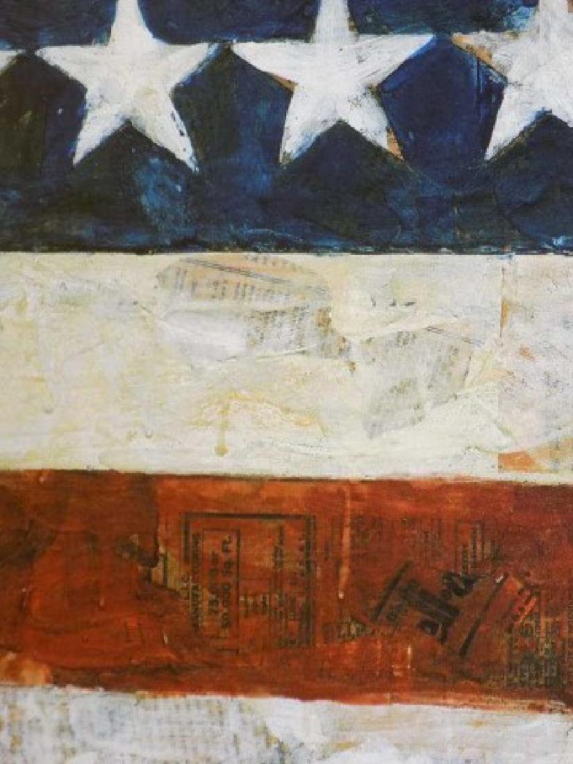 JASPER JOHNS - AMERICAN FLAG LITHOGRAPH - 3