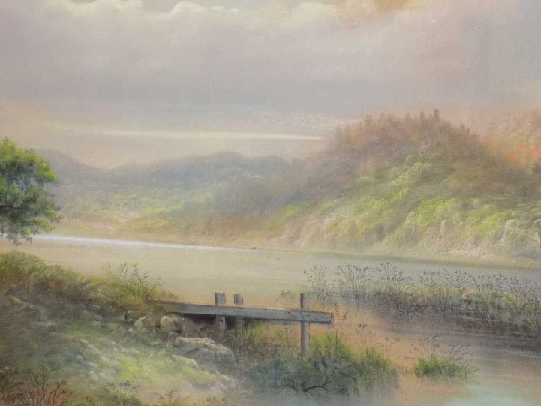 GEORGE D. BREWERTON - HUDSON RIVER VALLEY PASTEL - 3