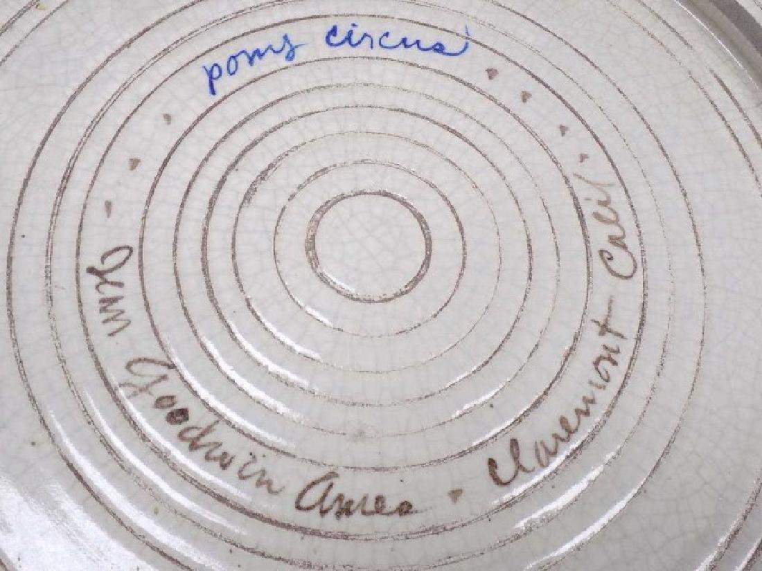 JEAN GOODWIN AMES - PONY CIRCUS CA POTTERY - 4