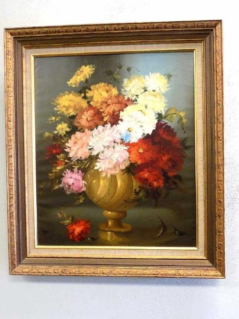VAGO - FLORAL BOUQUET STILL LIFE PAINTING
