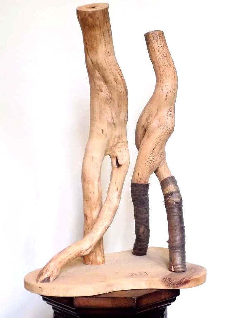 MOROZ - NATURALISTIC ROOT WOOD ART SCULPTURE