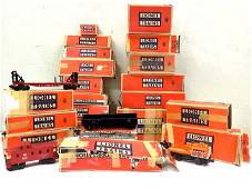 LARGE O27 LIONEL TRAINS  ACCESSORIES COLLECTION
