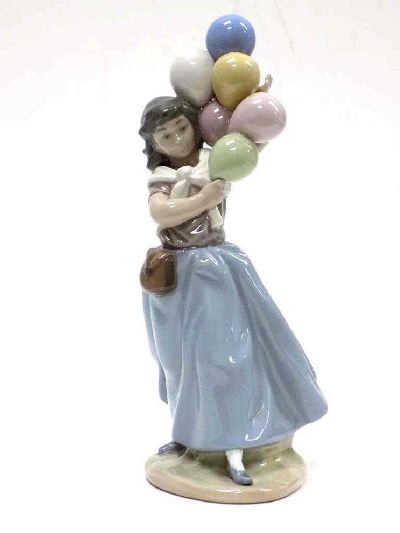 LLADO BALLOON GIRL BOXED PORCELAIN FIGURE