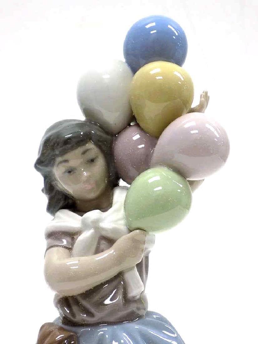 LLADO BALLOON GIRL BOXED PORCELAIN FIGURE - 2