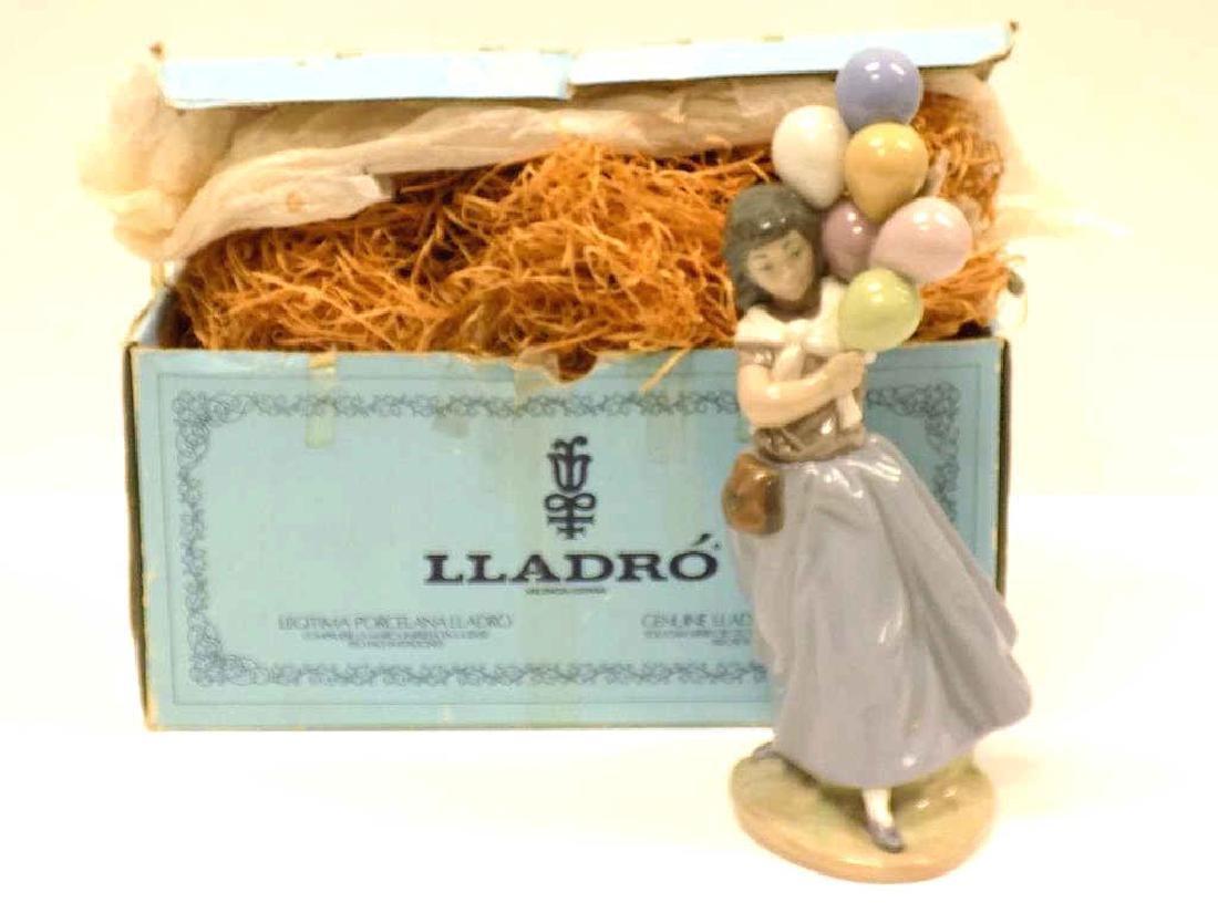 LLADO BALLOON GIRL BOXED PORCELAIN FIGURE - 3