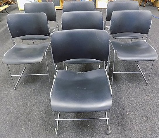 DAVID ROWLAND MIDCENTURY MODERN CHAIR SET