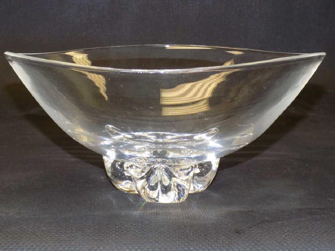 STEUBEN MODERNIST ART GLASS BOWL