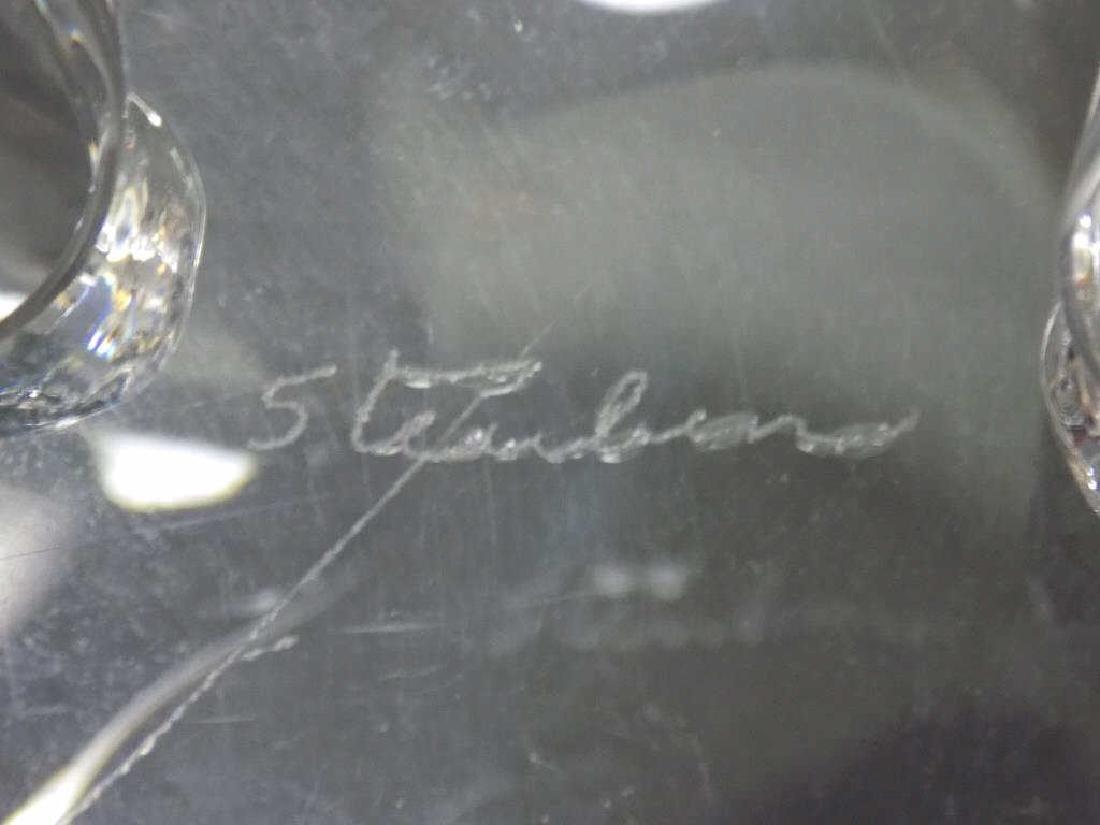 STEUBEN MODERNIST ART GLASS BOWL - 3