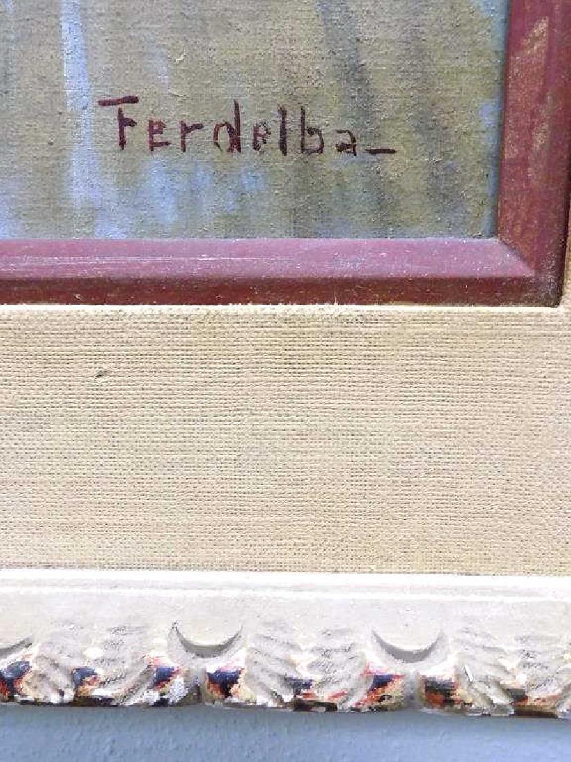 MARIO FERDELBA - IMPRESSIONIST CITY PAINTING - 4