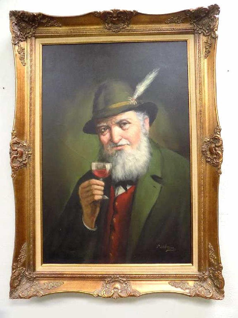 PELBAM - GERMAN GENTLEMAN PAINTING