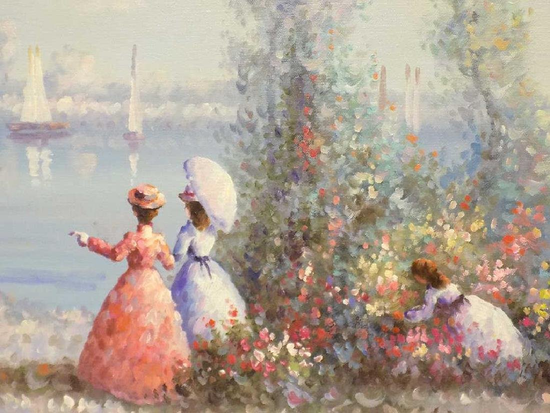 DUBOIS - FRENCH IMPRESSIONIST SEASIDE PAINTING - 2