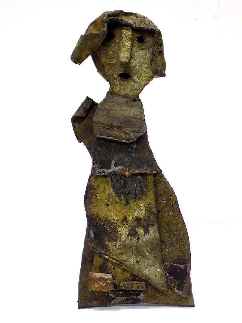 JERRY COKER - FOLK ART GOOD WIFE SCULPTURE