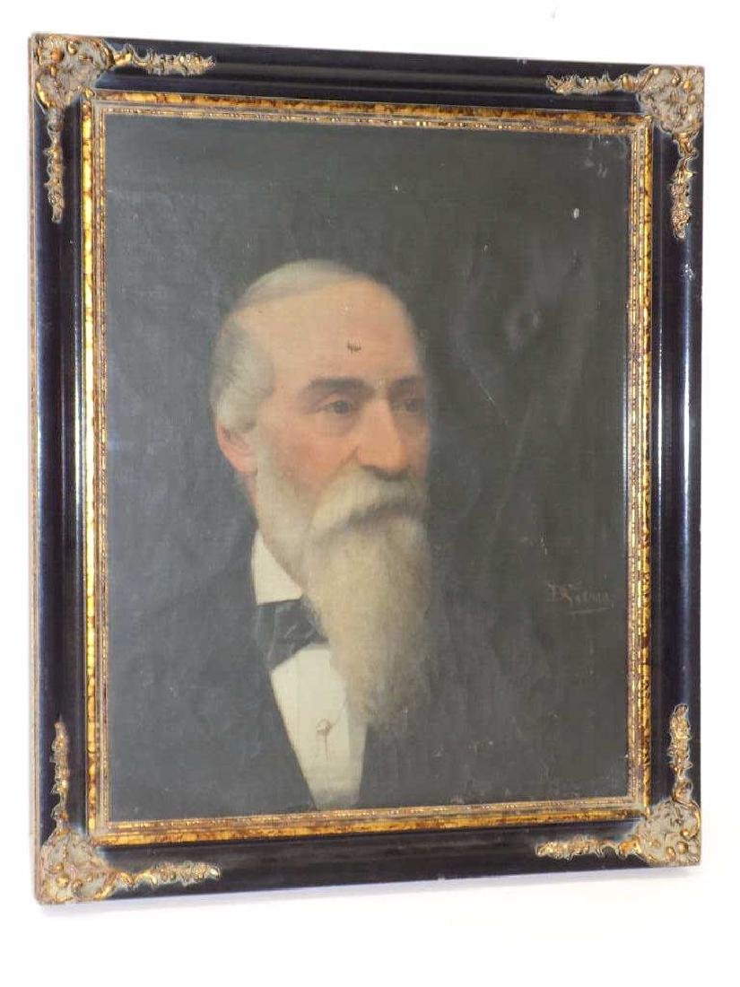 CIVIL WAR ERA DISTINGUISHED GENTLEMAN PAINTING