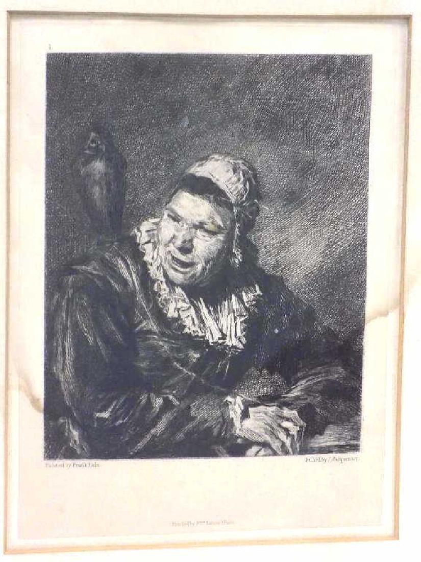 FRANS HALS - JACQUEMART LADY ETCHING