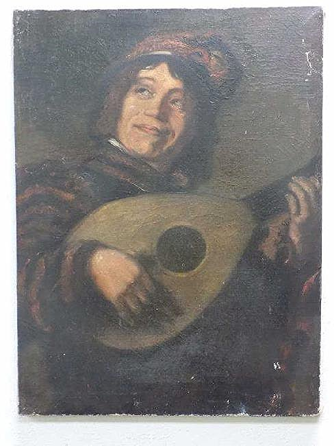 AFTER FRANZ HALS - OLD MASTER JESTER PAINTING
