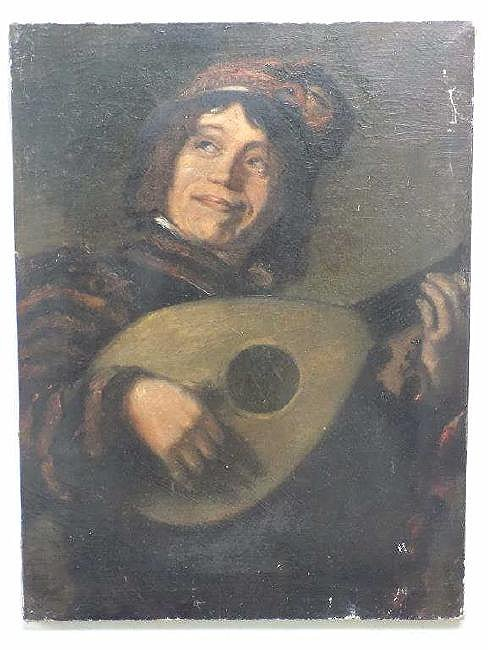 AFTER FRANZ HALS - OLD MASTER JESTER PAINTING - 2