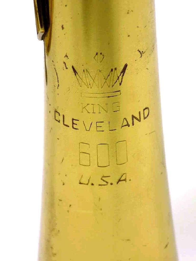KING CLEVELAND 600 BRASS TRUMPET - 2