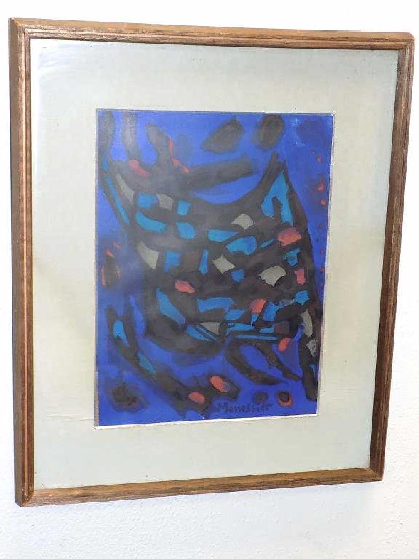 ALFRED MANESSIER - CUBIST COMPOSITION LITHOGRAPH