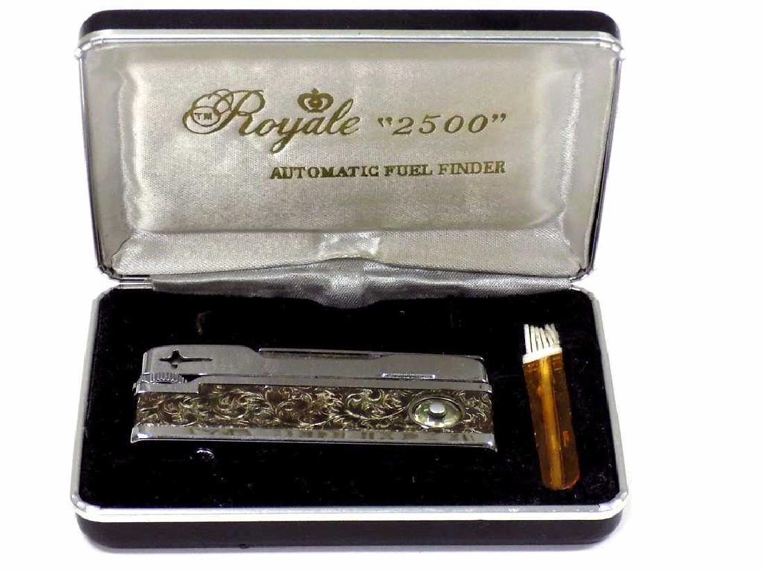 ROYALE 2500 AUTOMATIC SCROLLWORK LIGHTER
