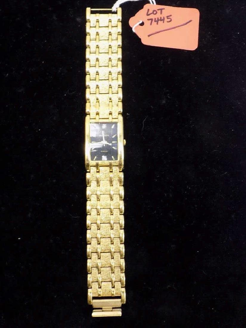 ART DECO ELGIN MAN'S GOLD TONE WRISTWATCH