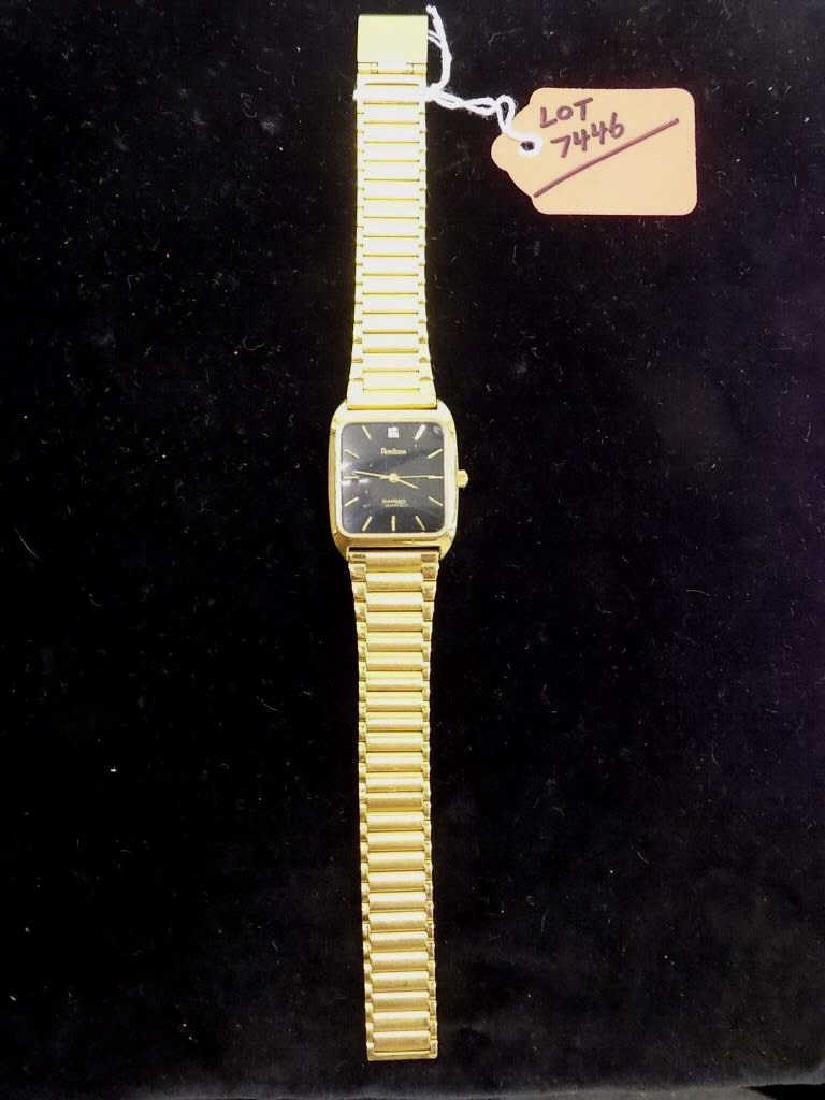 ARMITRON GOLD TONE MEN'S WRISTWATCH