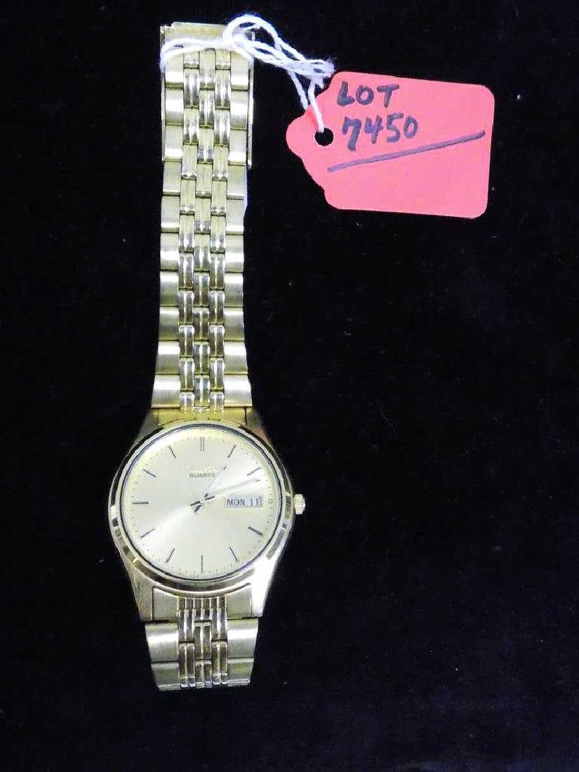 SEIKO GOLD TONE MEN'S WRISTWATCH