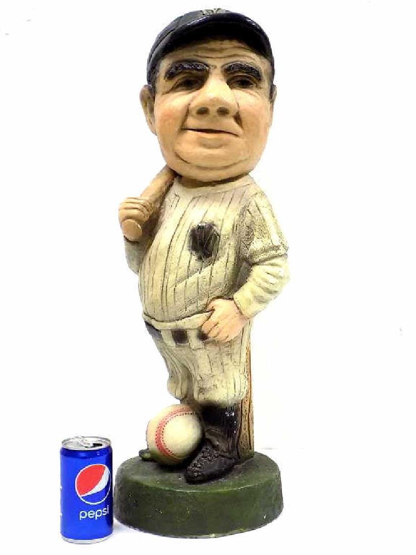 BABE RUTH CHARACTER PLASTER STATUE