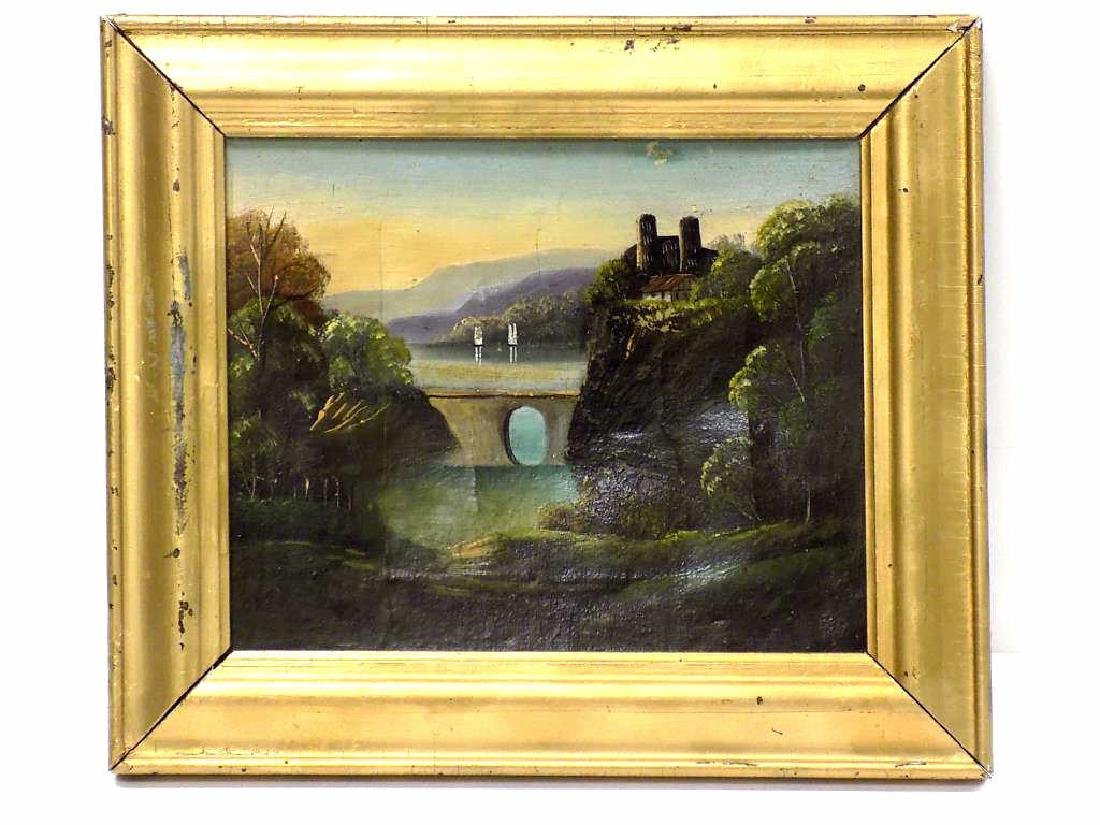 19TH CENTURY HUDSON VALLEY SCHOOL PAINTING