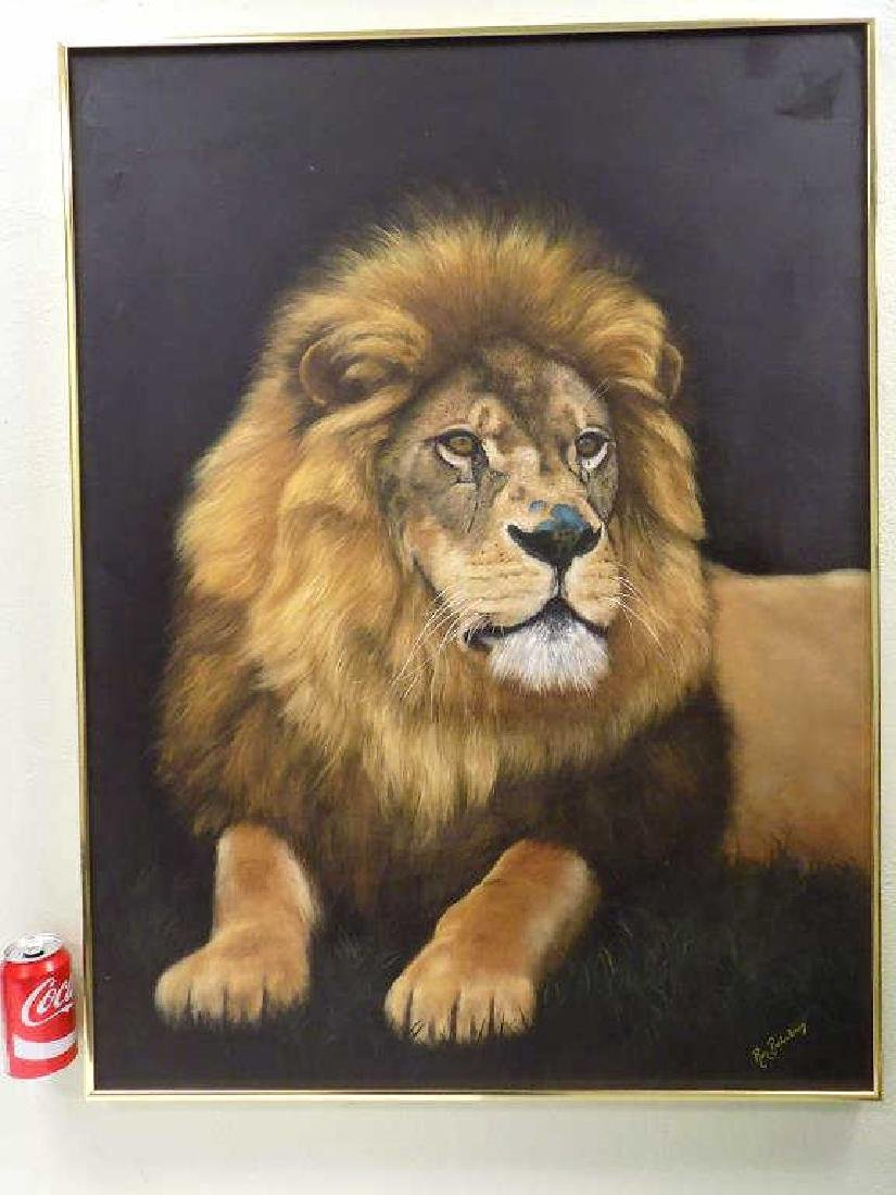 BALABAN ? BIG LION PAINTING