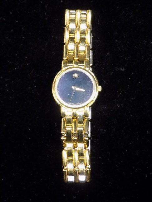 MOVADO GOLD TONE LADIES WRISTWATCH