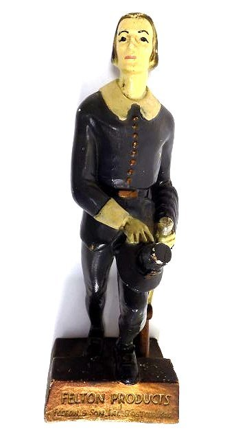 PILGRIM FELTON PRODUCTS ADVERTISING FIGURE