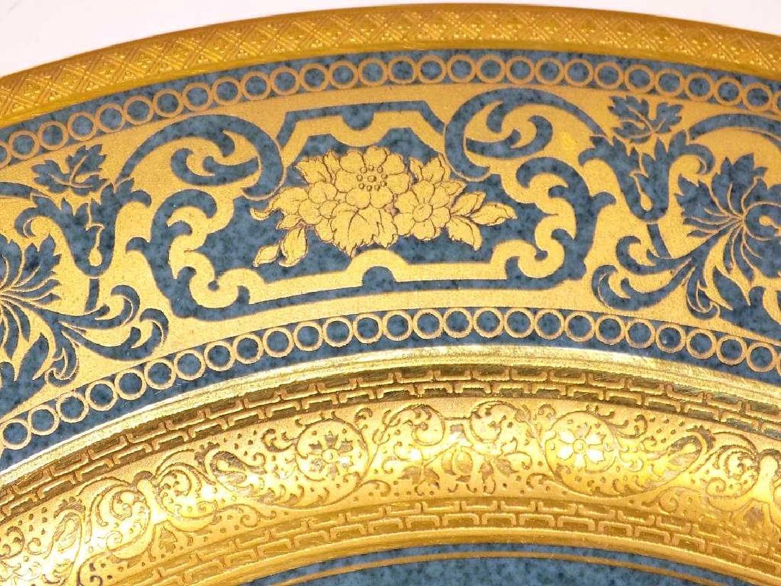 10 ROSENTHAL BAILEY BANKS BIDDLE GOLD PLATE SET - 2