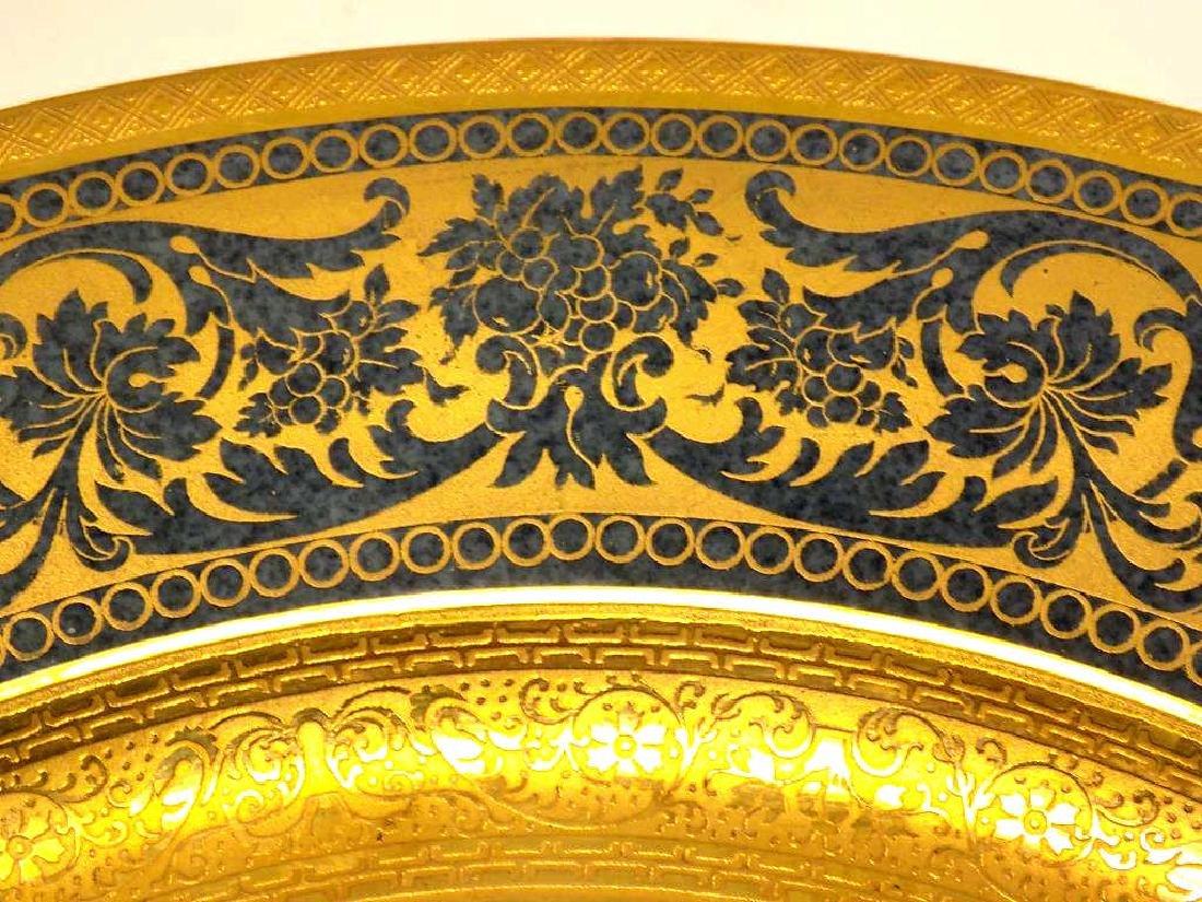 10 ROSENTHAL BAILEY BANKS BIDDLE GOLD PLATE SET - 3