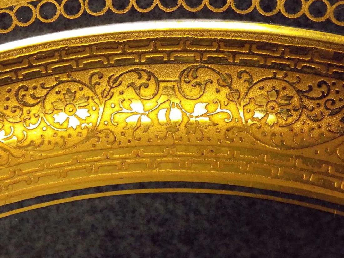 10 ROSENTHAL BAILEY BANKS BIDDLE GOLD PLATE SET - 4