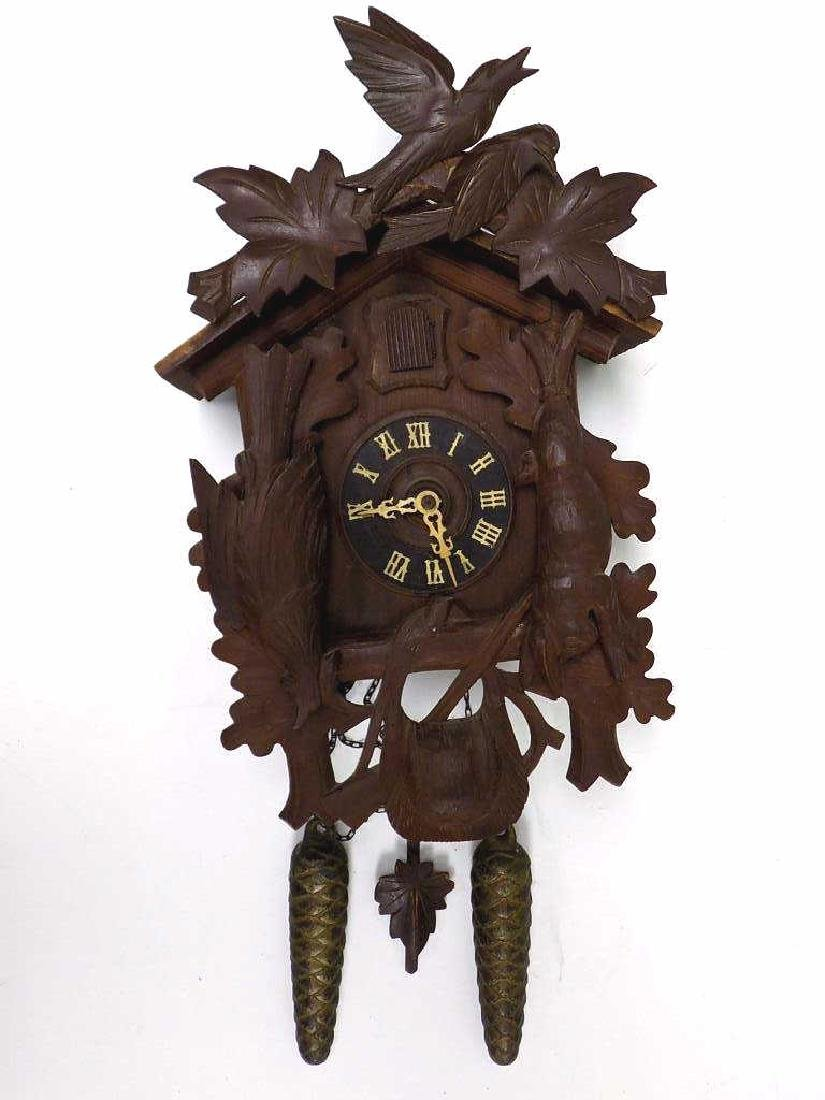 GERMAN BLACK FOREST COO COO CLOCK