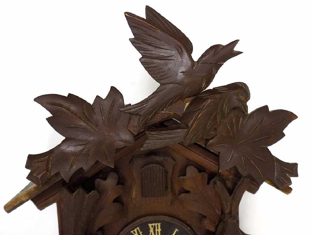 GERMAN BLACK FOREST COO COO CLOCK - 2