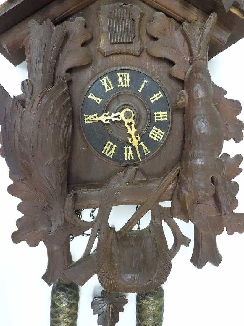 GERMAN BLACK FOREST COO COO CLOCK - 3