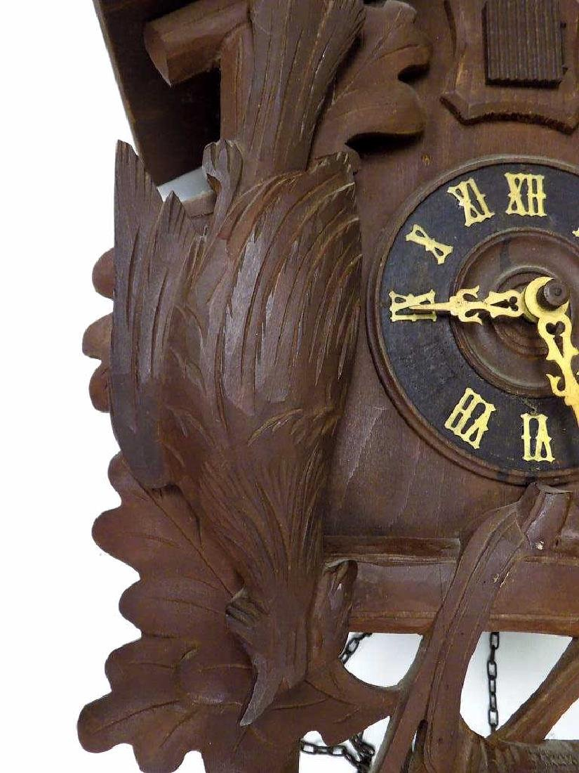 GERMAN BLACK FOREST COO COO CLOCK - 4
