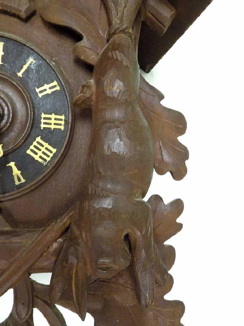 GERMAN BLACK FOREST COO COO CLOCK - 5